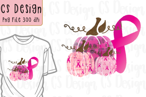 Print on Demand: Breast Cancer Awareness Sublimation Graphic Crafts By CSDesign