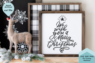 Print on Demand: Hand Lettered Wish You a Merry Christmas Graphic Crafts By Lettershapes