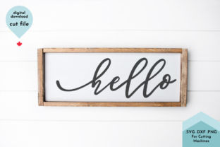 Print on Demand: Hello - Hand Lettered Graphic Crafts By Lettershapes