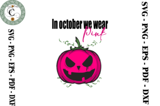 Print on Demand: Pink Pumpkin - Breast Cancer Awareness Graphic Print Templates By Cricut Creation