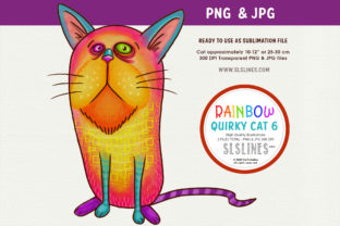 Prideful Kitty Cat Illustration Grafik Illustrationen von SLS Lines
