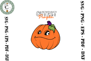 Print on Demand: Pumpkin Vector Clipart Graphic Print Templates By Cricut Creation
