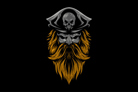 Vector Illustration Pirate's Head Logo Graphic Logos By alexanderbautista137