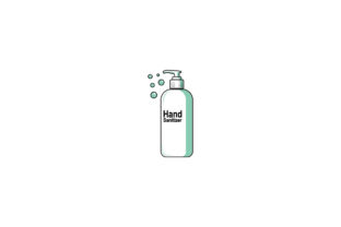 Hand Sanitizer Illustration Graphic Illustrations By SyntaxArt Studio