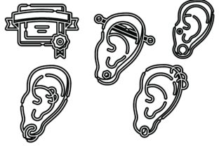 Piercing Black Graphic Icons By ssiimpti73