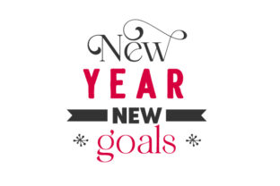 New Year New Goals New Year's Craft Cut File By Creative Fabrica Crafts