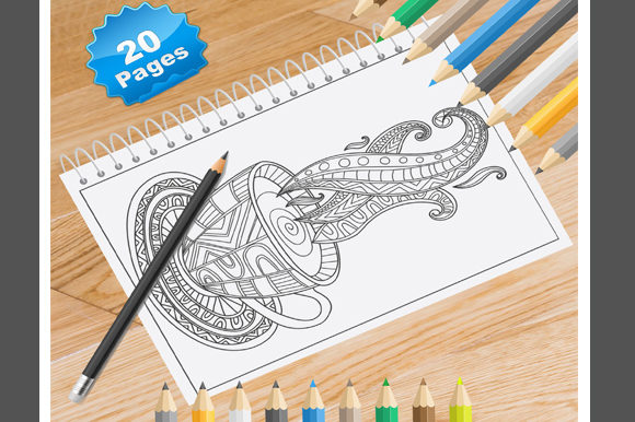 Print on Demand: 20 Tea Lover Coloring Pages for Adults Graphic Coloring Pages & Books Adults By Coloring World