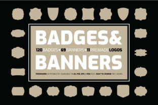Print on Demand: Badges & Banners Graphic Objects By ihsankl