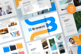 Brand Guidelines Google Slides Template Graphic Presentation Templates By Graphue