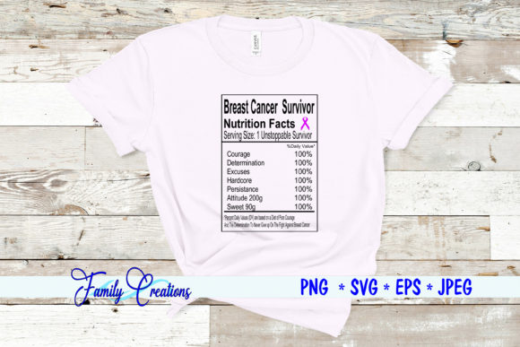 Breast Cancer Survivor Graphic Crafts By Family Creations
