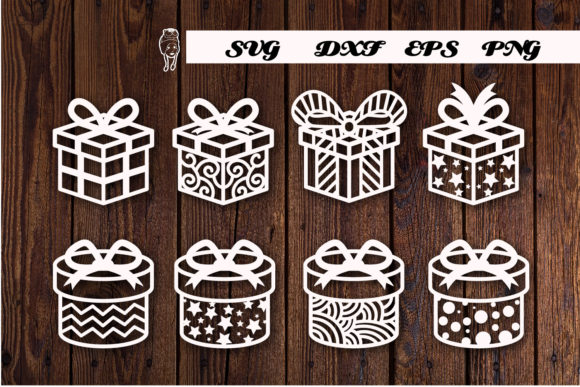Print on Demand: Christmas Gifts Graphic Print Templates By dadan_pm