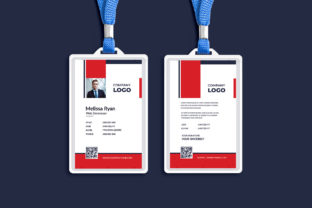 Corporate ID Card Templates Graphic Print Templates By Pixelpick