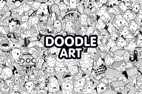 Doodle Art Graphic Illustrations By medzcreative