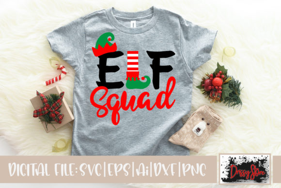 Elf Squad Graphic Illustrations By DrissyStore