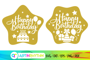 Happy Birthday Svg, Birthday Card Svg Graphic Crafts By artinrhythm