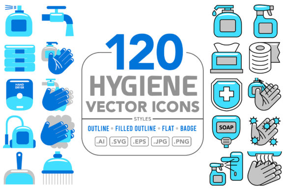 Hygiene Vector Icons Graphic Icons By medzcreative