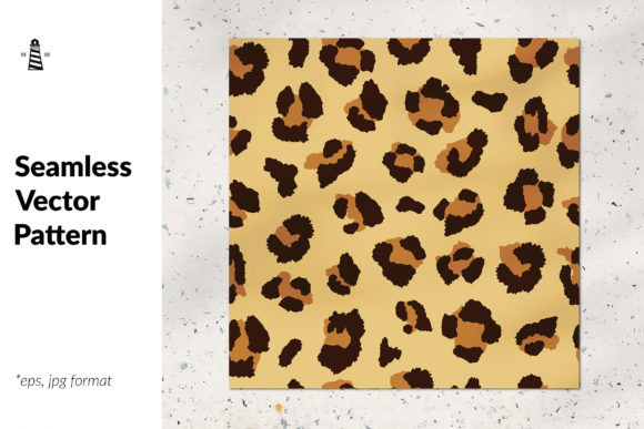 Print on Demand: Leopard Allover Print Graphic Patterns By northseastudio