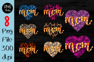 Print on Demand: Mom Mother's Day Leopard Buffalo Plaid Graphic Crafts By CSDesign