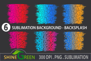 Print on Demand: Sublimation Christmas Background Bundle Graphic Backgrounds By ShineGreenArt