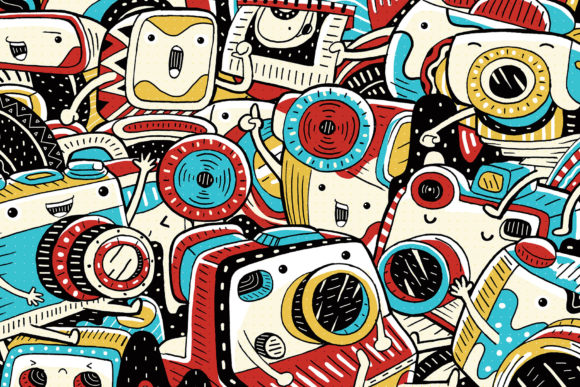 Vintage Camera Illustration Graphic Illustrations By medzcreative