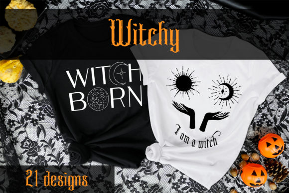 Witchy - Vector Illustrations Graphic Objects By neauth