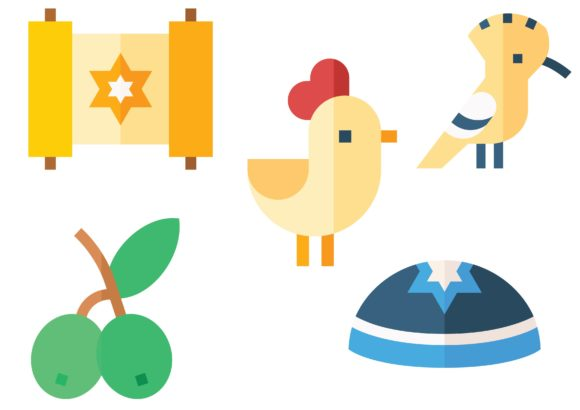 Israel Graphic Icons By ssiimpti73