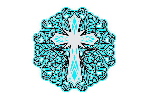 Cross Mandalas Craft Cut File By Creative Fabrica Crafts