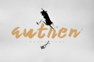 Print on Demand: Authen Display Font By Maulana Creative
