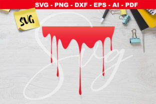 Print on Demand: Blood Drips   Graphic Crafts By Novart