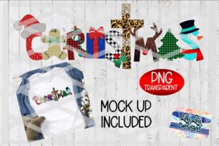 Print on Demand: Christmas Word Art Sublimation File Graphic Illustrations By Lori Lou Designs