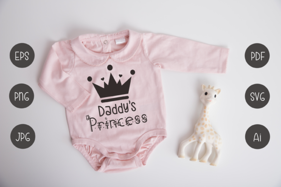 Print on Demand: Daddy's Princess Graphic Crafts By nuraisyahamalia1729