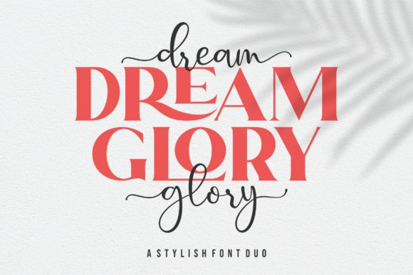 Print on Demand: Dream Glory Serif Font By ergibi studio