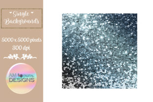 During the Storm Gradient Chunky Glitter Graphic Backgrounds By AM Digital Designs