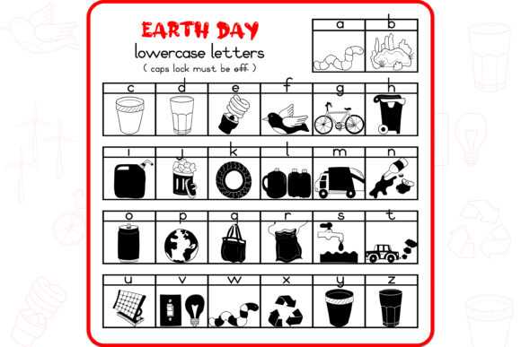 Earth Day Font Item