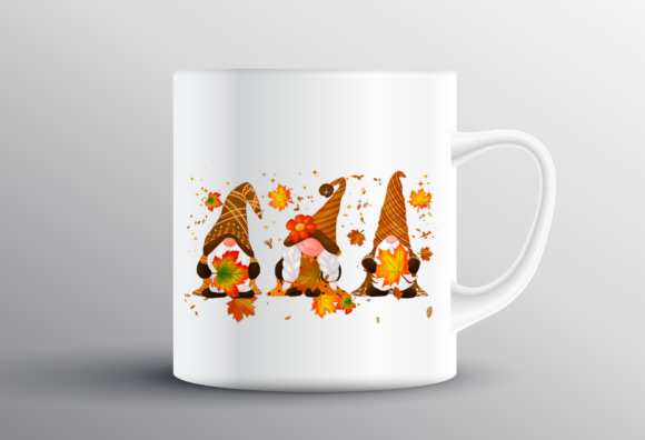 Gnomes Thanksgiving Sublimation Design Graphic Design