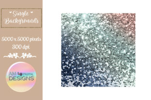 Gorgeous Gradient Chunky Glitter Graphic Backgrounds By AM Digital Designs