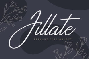 Print on Demand: Jillate Script & Handwritten Font By Situjuh