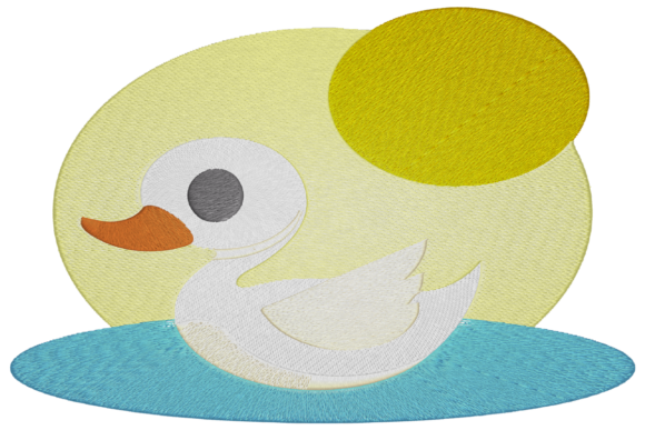 Little Swan Baby Animals Embroidery Design By Digital Creations Art Studio
