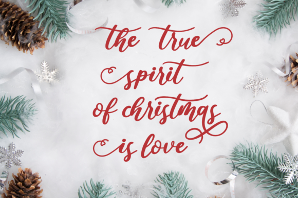 Love Christmas Font Download