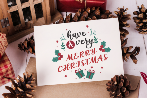 Love Christmas Font Preview
