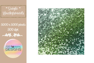 Lucky Leprechaun Gradient Chunky Glitter Graphic Backgrounds By AM Digital Designs