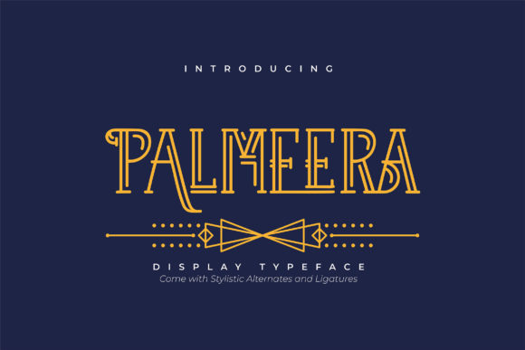 Print on Demand: Palmeera Serif Font By Vunira