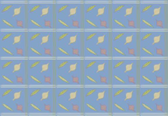 Print on Demand: Pattern Plaid Fall Leaves (vol.2) Graphic Patterns By StasiasPictures