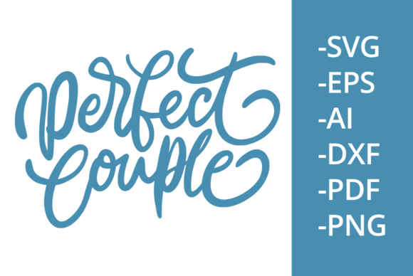 Print on Demand: Perfect Couple Graphic Crafts By Ijem RockArt