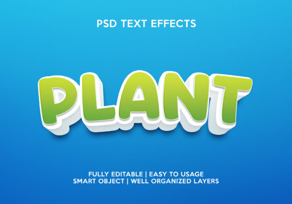 Plant Text Effect Graphic Layer Styles By gilangkenter