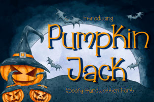 Print on Demand: Pumpkin Jack Script & Handwritten Font By boogaletter