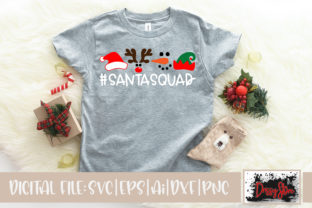 Santa Squad Graphic Illustrations By DrissyStore