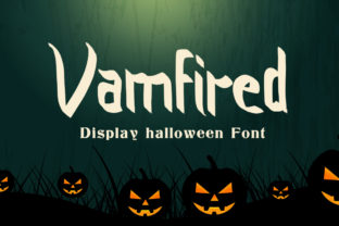 Print on Demand: Vamfired Display Font By hugefonts