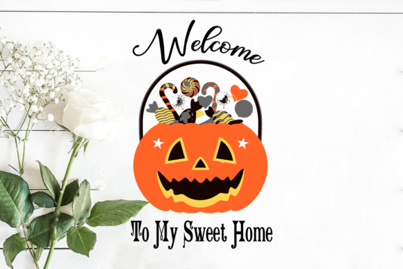 Welcome to My Sweet Home Graphic Crafts By Silhouette Market