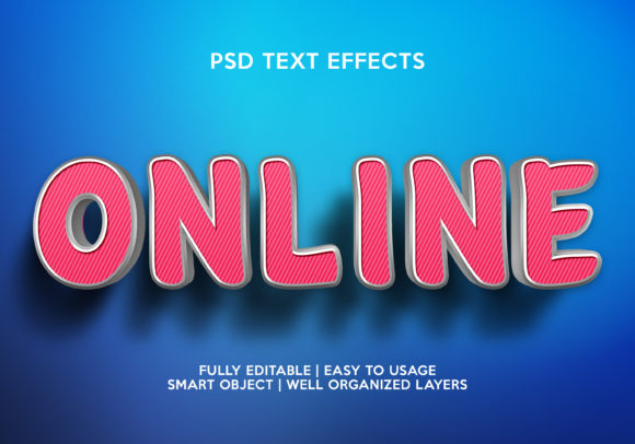 Online Text Effect Graphic Layer Styles By gilangkenter